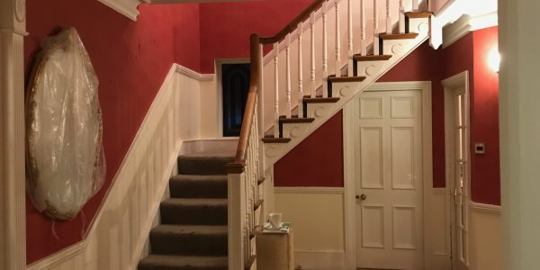 bending staircase